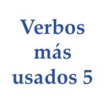 verbos más usados 5 en inglés