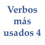verbos mas utilizados 4