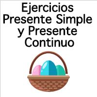 Ejercicios Presente Simple Y Presente Continuo En Inglés