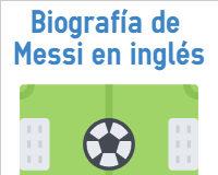 Biografía de Messi en inglés