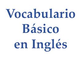 vocabulario básico en ingles