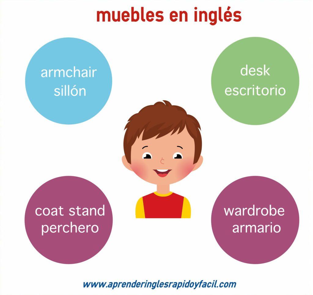 Muebles en inglés