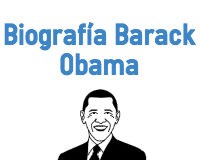Biografía de Barack Obama en inglés