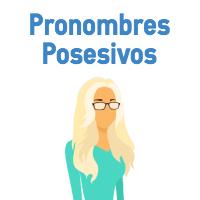 pronombres posesivos en inglés